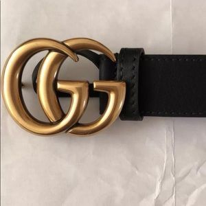 Gucci Gold GG Buckle